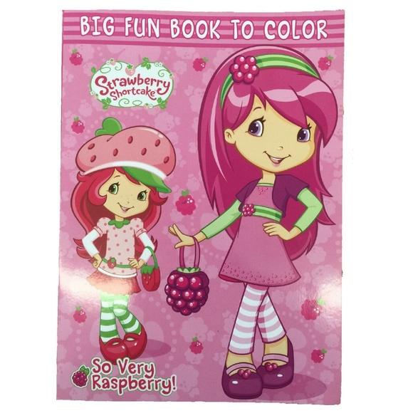 Bendon Publishing Other Strawberry Shortcake Coloring Book Poshmark